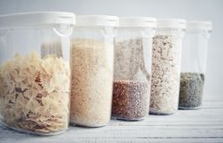 Food storage concept stock photo