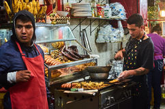 Food store in Monserrate Stock Photography