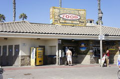 Food Store. Zack's Food Store is one of the stores that Beach swimmer's were to buy foods and refreshments Stock Photos