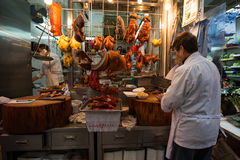 Food stores in Hong Kong Stock Photography