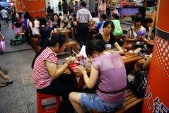 Food street Royalty Free Stock Photos