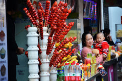 Food street Stock Photography