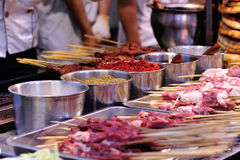 Food street booth Royalty Free Stock Photography