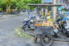 Food street in Hoi An, Vietnam Royalty Free Stock Photos