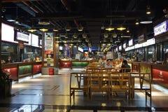 Food street interior Royalty Free Stock Photo