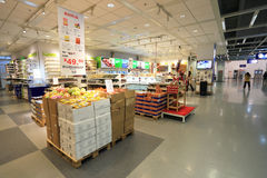 Food supermarket Royalty Free Stock Image