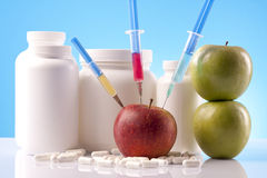 Food supplement science Stock Photography