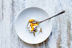 Food supplements Royalty Free Stock Photo