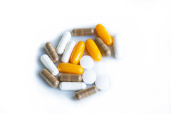 Food supplements Royalty Free Stock Image
