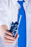 Food supplements Royalty Free Stock Photography