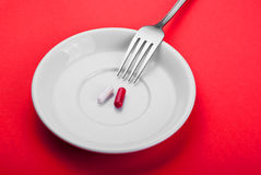 Food supplements Stock Photography