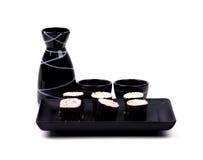 Food - Sushi and Sake Stock Photography