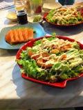 Food. Sushi sashimi salad Royalty Free Stock Images