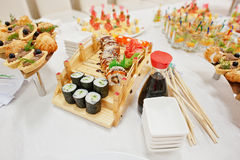 Food of sushi Royalty Free Stock Images