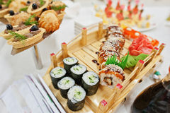 Food of sushi Royalty Free Stock Photography