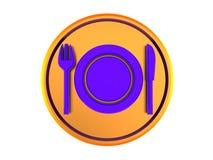 Food symbol Royalty Free Stock Photo