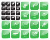 Food symbol1 vector Stock Photos