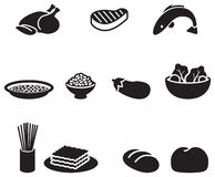 Food symbols Stock Photos