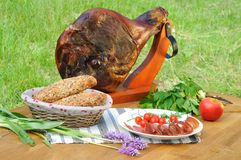 Food on the table Royalty Free Stock Images