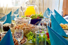 Food on the table Stock Photos