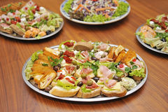 Food on table Royalty Free Stock Photo