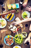 Food Table Celebration Delicious Party Meal Concept Royalty Free Stock Photo