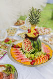 Food on the table Royalty Free Stock Photography