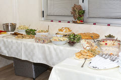 Food on table Stock Image