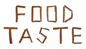 Food taste Stock Images