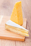 Food - tasty cheese Stock Images