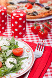 Food - tasty italian dinner Stock Photos