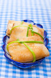 Food - tasty russian course - pancake Stock Photo