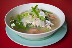 Food thai seafood. Food thai,food of asia on the seafood Royalty Free Stock Image