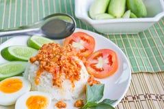 Food Thai spicy food. Thai food Thai spicy food Stock Photos