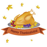 Food for thanksgiving day stock illustration