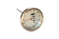 Food thermometer. Isolated, shallow DOF Stock Photos