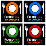 Food for thought Stock Images