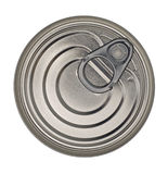 Food Tin Can Lid Stock Photos