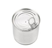 Food Tin Can Lid Royalty Free Stock Photos
