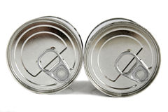 Food tins Stock Images