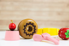 Food Toy Background Royalty Free Stock Images
