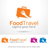 Food Travel Logo Template Design Vector, Emblem, Design Concept, Creative Symbol, Icon Stock Images
