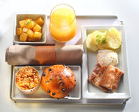 Food tray buffet Stock Photos