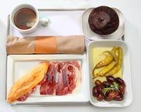 Food tray buffet royalty free stock photo