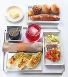 Food tray buffet Stock Photography