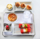 Food tray buffet Stock Image
