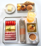 Food tray buffet royalty free stock images