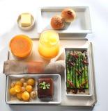 Food tray buffet stock image