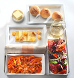 Food tray buffet Royalty Free Stock Photos