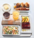 Food tray buffet Stock Photo